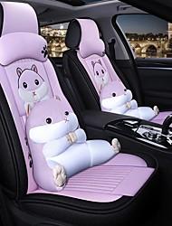 Недорогие -мультипликационная автомобильная подушка всесезонный gm чехол на сиденье полный объемный чехол на подушку автомобиля совместим с чехлом на подушку безопасности 5 мест, включая 2 подголовника и 2