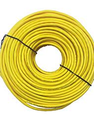 Недорогие -20 м желтый внешний сетевой кабель Ethernet cat5e 100% медь RJ45 высочайшее качество mar24