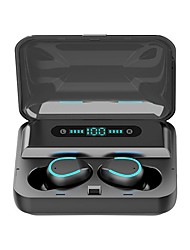 cheap -LITBest F9-5 TWS True Wireless Earbuds 2000mAh Power Bank Bluetooth 5.0 Stereo Sports Fitness Headphones Auto Paring Voice Assistant Touch Control LED Display Phone Holder Case