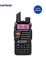 cheap -Walkie-talkie portable radio Baofeng UV-5RE dual-band dual-use radio Po Feng UV 5RE 5W 128CH UHF / VHF dual display radio with headset USB cable