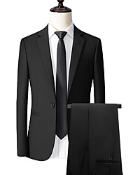 cheap -Black custom suit