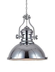 cheap -1-Light 31 cm Creative Pendant Light Metal Industrial Electroplated Chic & Modern Nordic Style 110-120V 220-240V