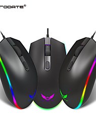 cheap -ZERODATE S900 Wired USB Optical Gaming Mouse / Office Mouse RGB Light 1600 dpi 3 Adjustable DPI Levels 4 pcs Keys