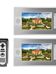 cheap -MOUNTAINONE SY812M12 Wired &amp Wireless Built in out Speaker 7 inch Hands-free One to One video doorphone