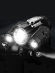 cheap -LED Bike Light Front Bike Light Mountain Bike MTB Bicycle Cycling Waterproof 360° Rotation Multiple Modes Super Bright 18650 300 lm 18650 lithium battery White Cycling / Bike / IPX 6 / Wide Angle
