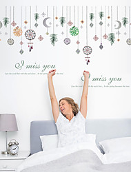 cheap -SK9311 bead curtain beautiful wall stickers removable living room sofa background decorative stickers