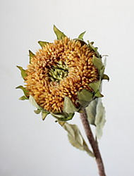 cheap -Artificial Flowers 1 Branch Classic Stylish Sunflowers