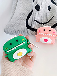 cheap -Dinosaur Earphone Case for Airpods Pro 3 Case Cute Flower Cover for Apple Air pods Pro Case Silicone Protective Earbuds Accessories Box