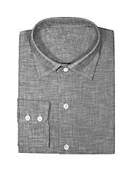 cheap -Cool Gray Cotton Shirt