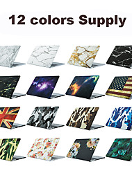 cheap -MacBook Case Lines / Waves / Camouflage / Leopard Print Plastic for Macbook Air 11-inch / New MacBook Pro 15-inch / New MacBook Pro 13-inch