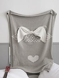cheap -Bed Blankets, Cartoon Acrylic Fibers Comfy Blankets
