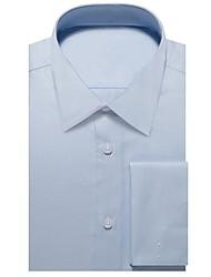 Недорогие -голубая оксфордская рубашка
