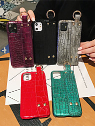 cheap -Case For Apple iPhone 11 / iPhone 11 Pro / iPhone 11 Pro Max Pattern Back Cover Solid Colored TPU
