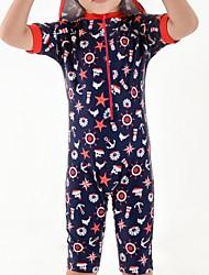 abordables -Bébé Garçon Géométrique Maillot de Bain Bleu