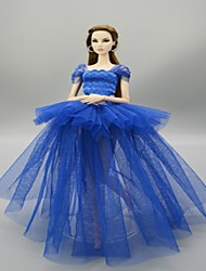 abordables -Tenue de poupée Pour Barbie Animal Polyester Manteau Pour Fille de Jouets DIY