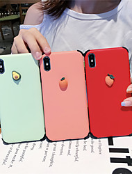 cheap -Case For Apple iPhone XS / iPhone XR / iPhone XS Max Shockproof / Pattern Back Cover Food Silica Gel for iPhone 6  6 Plus  6s 6s plus 7 8 7 plus 8 plus X XS
