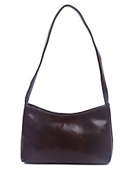 cheap -Women's Polyester / PU Top Handle Bag Solid Color Black / Brown / Dark Brown