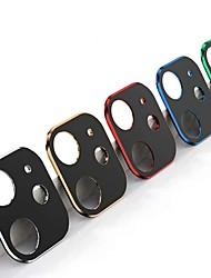 Недорогие -AppleScreen ProtectoriPhone 11 Зеркальная поверхность Протектор объектива камеры 1 ед. Титановый сплав