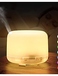 cheap -500ml Ultrasonic Air Humidifier Aroma Essential Oil Diffuser Aromatherapy Hmidificador 7 Color Change LED Night Light For Home
