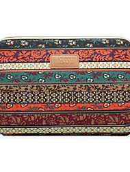 cheap -11.6 12 13.3 14.1 15.6 inch Universal Bohemia Print Canvas Water-resistant Shock Proof Laptop Sleeve Case Bag for Macbook/Surface/Xiaomi/HP/Dell/Samsung/Sony Etc