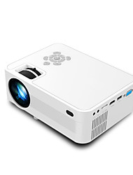 cheap -Portable Home Movie LED Video Projector 2200 lm Compatible with Fire TV StickHDMI VGA AV USB