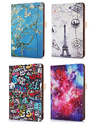 cheap -Case For Apple iPad Pro 11'' Card Holder / Origami Full Body Cases Scenery / Cartoon PU Leather