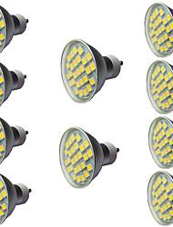 cheap -10pcs 5 W LED Spotlight 400 lm GU10 GU10 1 LED Beads COB Warm White White 110-240 V