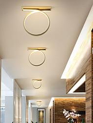 cheap -1-Light Nordic Modern Simple Corridor LED Ceiling Lamp Corridor Porch Lamp Balcony Lamp Stair Hall Lamp Entrance Lamp 24W