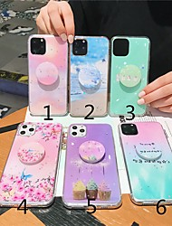 cheap -Case For Apple iPhone 11 / iPhone 11 Pro / iPhone 11 Pro Max with Stand Back Cover Color Gradient / Butterfly / Scenery TPU