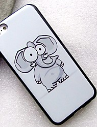 cheap -Case For Apple iPhone SE / 5s / iPhone 5 IMD / DIY Back Cover Animal / Cartoon PC