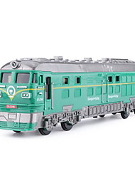 cheap -Toy Trains & Train Sets Train Train Glow Simulation Plastic & Metal Metal Alloy Kids All Toy Gift 1 pcs