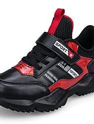 abordables -Garçon Confort Polyuréthane Chaussures d'Athlétisme Grands enfants (7 ans et +) Rouge / Bleu Automne