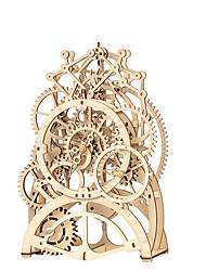 Недорогие -3D пазлы Деревянные пазлы Часы моделирование Ручная работа деревянный 166 pcs Детские Взрослые Все Игрушки Подарок