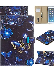 cheap -Case For Apple iPad Mini 3/2/1 / iPad Mini 4 / iPad Mini 5 Wallet / with Stand / Flip Full Body Cases Butterfly PU Leather