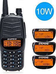 Недорогие -baofeng uv-990 10 Вт мощная портативная радиостанция 10 Вт с двумя PTT УКВ / УВЧ с двумя полосами 10 км на большие расстояния портативная радиолюбительская радиостанция