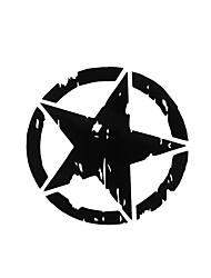 Недорогие -Автомобильные наклейки 15 см * 15 см армейская звезда графические наклейки мотоцикл кузова / окна наклейки винил-стайлинга автомобилей этикета
