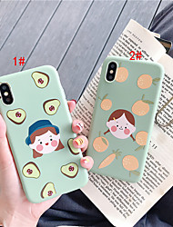 cheap -Case For Apple iPhone 11 / iPhone 11 Pro / iPhone 11 Pro Max Pattern Back Cover Food / Cartoon TPU