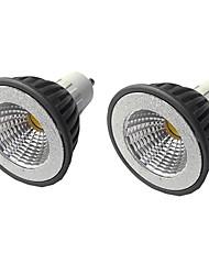 cheap -2pcs 5 W LED Spotlight 400 lm GU10 GU10 1 LED Beads COB Warm White White 110/220 V