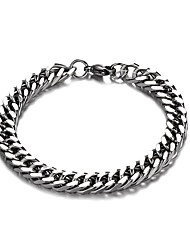 abordables -Homme Femme Alliage Gros Fantaisie Tendance Couleur Pleine / bracelet