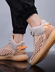 cheap -Men's / Unisex Comfort Shoes Synthetics Fall & Winter Athletic Shoes Black / Khaki