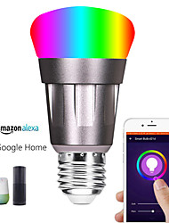 cheap -Seven Color LED Bulb 11W Mobile App Intelligent Remote Voice Control Bulb Color