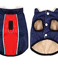 abordables -Chien Manteaux Hiver Vêtements pour Chien Chaud Noir Rouge Rose Anniversaire Costume Husky Labrador Malamute d'Alaska Mélange Poly / Coton Décontracté / Quotidien Garder au chaud XXXL XXXXXL 7XL 9XL
