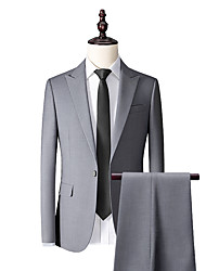 cheap -Smoke gray custom suit