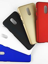 Недорогие -Кейс для Назначение OnePlus OnePlus 5T / One Plus 1 / Oneplus 7 pro Защита от удара Кейс на заднюю панель Однотонный ПК