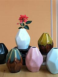 cheap -1pc Irregular shape Ceramic Artistic Vintage Table Vase