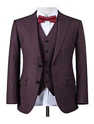 Недорогие -ягодный фиолетовый оконное стекло на заказ костюм