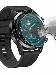 Недорогие -защитная пленка для часов Huawei GT2 46 мм закаленное стекло прозрачное высокое разрешение (HD) царапинам / твердость 9 ч
