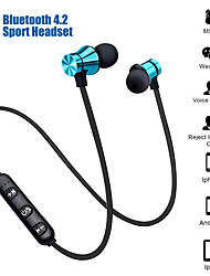 cheap -XT-11 Magnetic Wireless Bluetooth Earphone Headset Bass Music Earbuds Headset