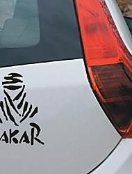 cheap -2 pcs Universal Creative Car Sticker DAKAR Off-road Reflective Waterproof  Vinyl Decal