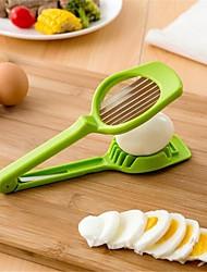cheap -Stainless Steel Handheld Mushroom Kiwi Divider Tomato Cutter Egg Split Device Multifunction Slicing Mould Egg Slicer Gift Box